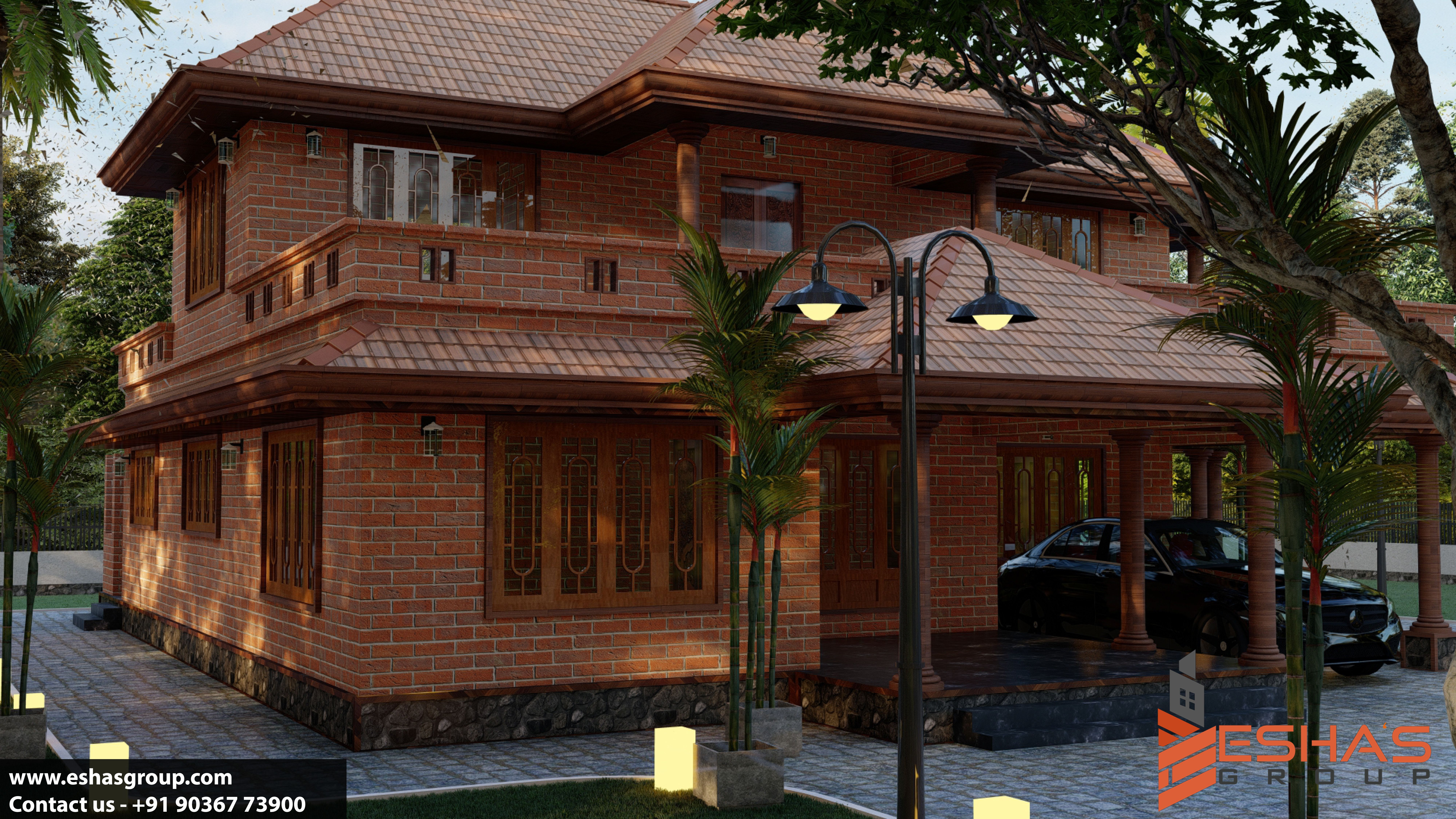 Construct Your Home With Interlocking Mud Blocks Village House Design Design Your Dream House Indian Home Design