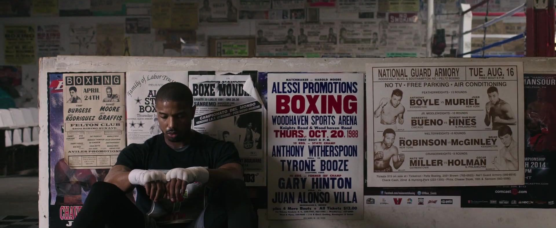 Boxing Michael B Jordan Creed Movie Wallpaper Http Www