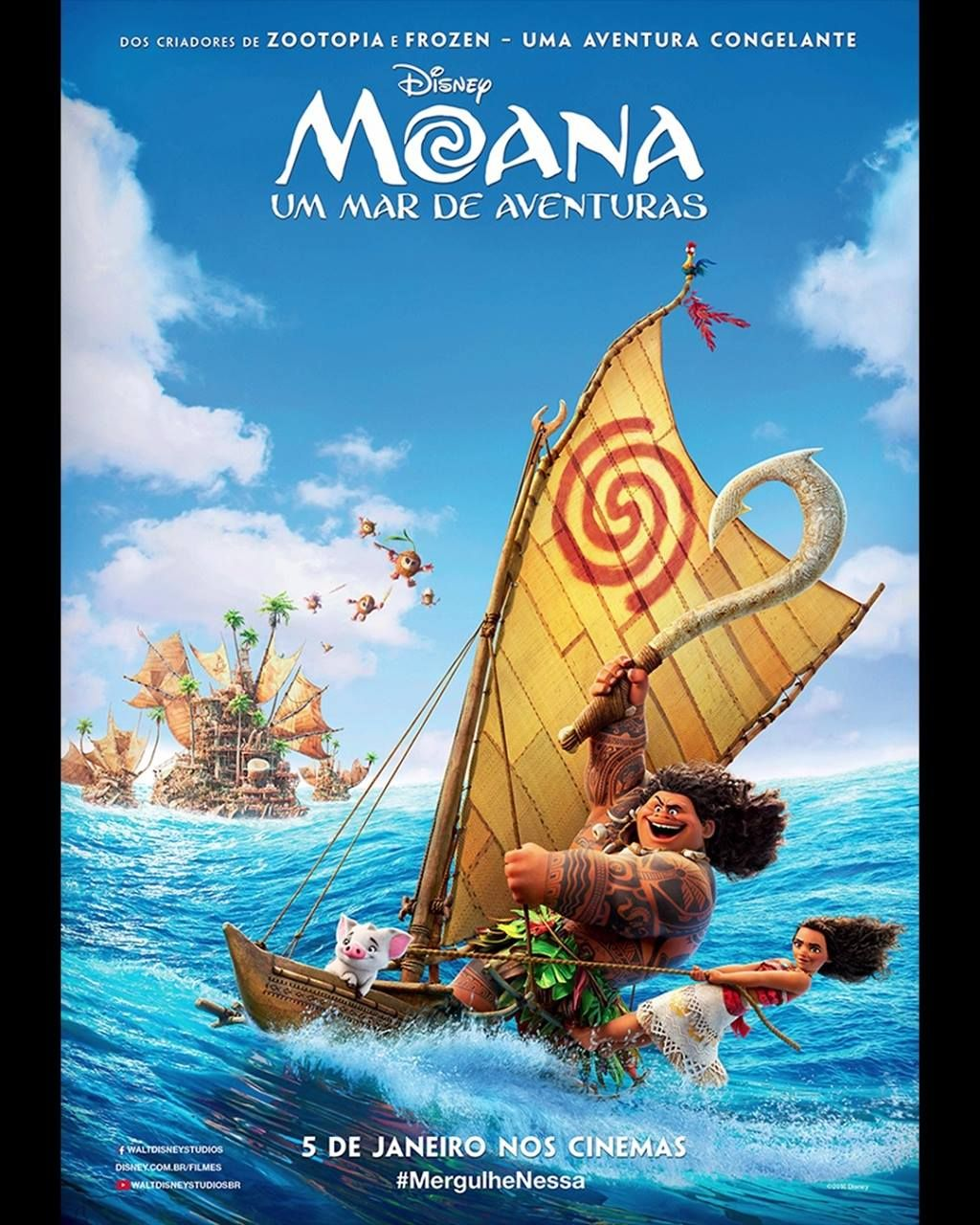 Overwhelmed By Your Excitement For Moana! The Beauty And