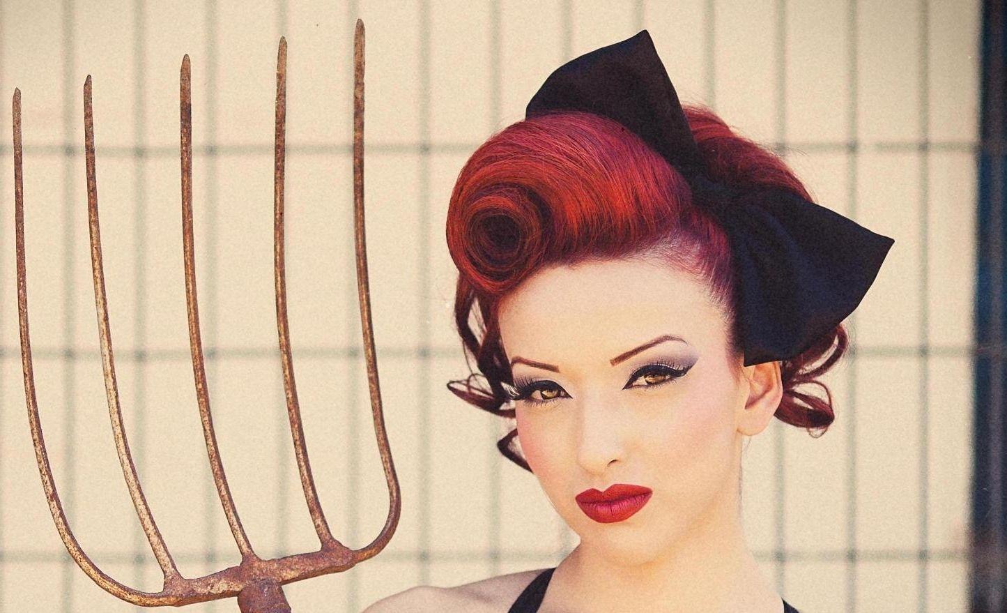rockabilly hairstyles for short hair women - women haircuts