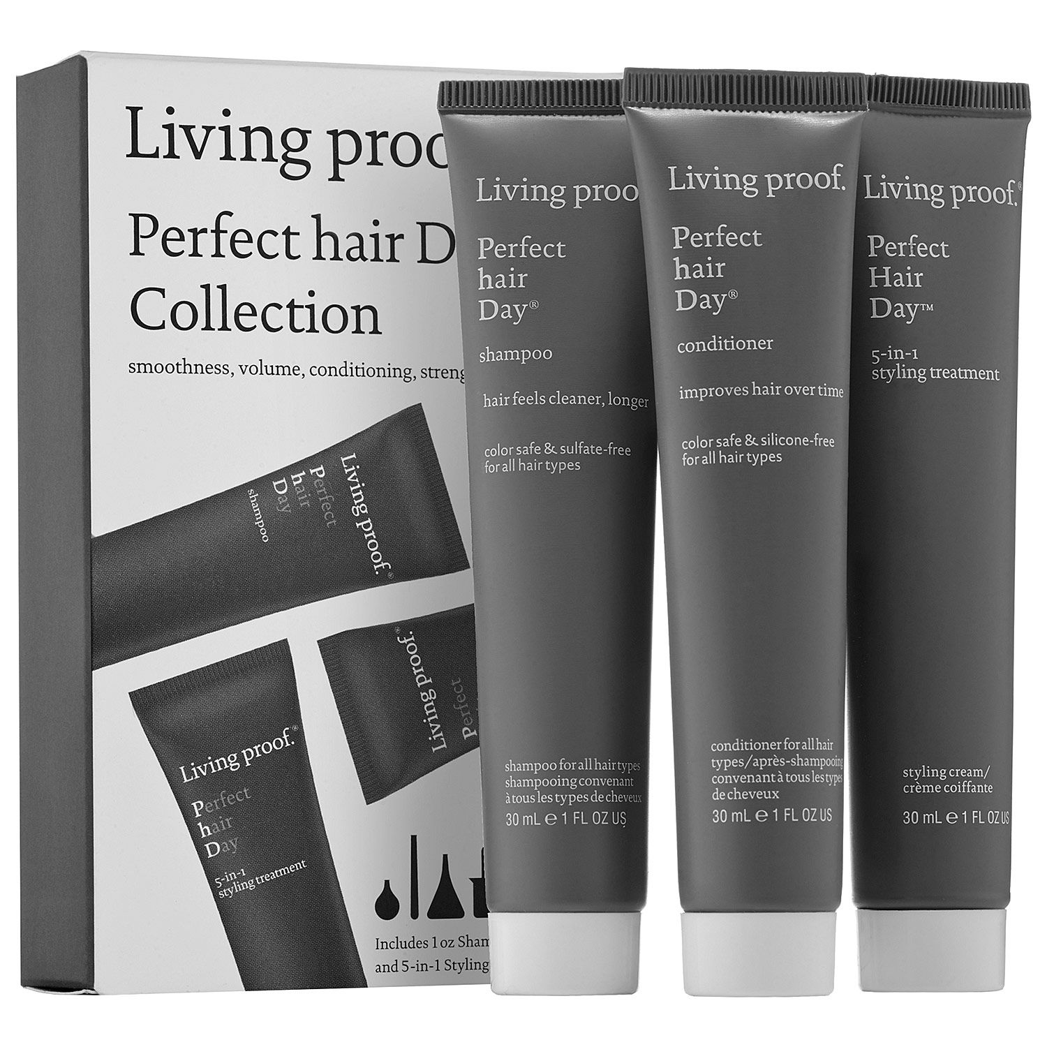Living Proof Perfect Hair Day Collection 1 Oz Perfect Hair Day Shampoo 1 Oz Perfect Hair Day Conditioner 1 Oz Perfect Perfect Hair Day Perfect Hair Sephora