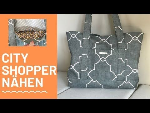 Tasche nähen | DIY TOTE BAG | Bag ideas sewing | Coudre un sac | Bolsa de bricolaje