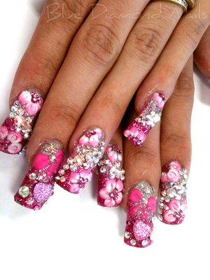long nail designs tumblr ca f yeah hoodrat nails  nails