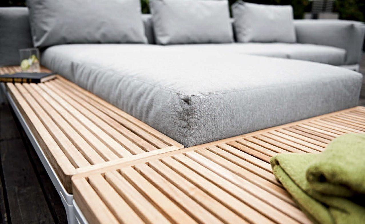 Canapé Du0027angle Composable De Jardin GRID By Gloster Design Henrik Pedersen