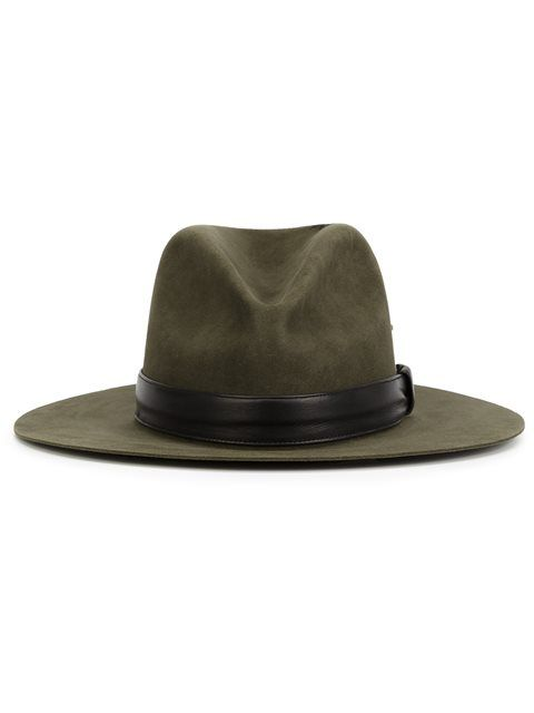67efce17 Shop Nick Fouquet fedora hat in The Webster from the world's best  independent boutiques at farfetch.com. Shop 400 boutiques at one address.