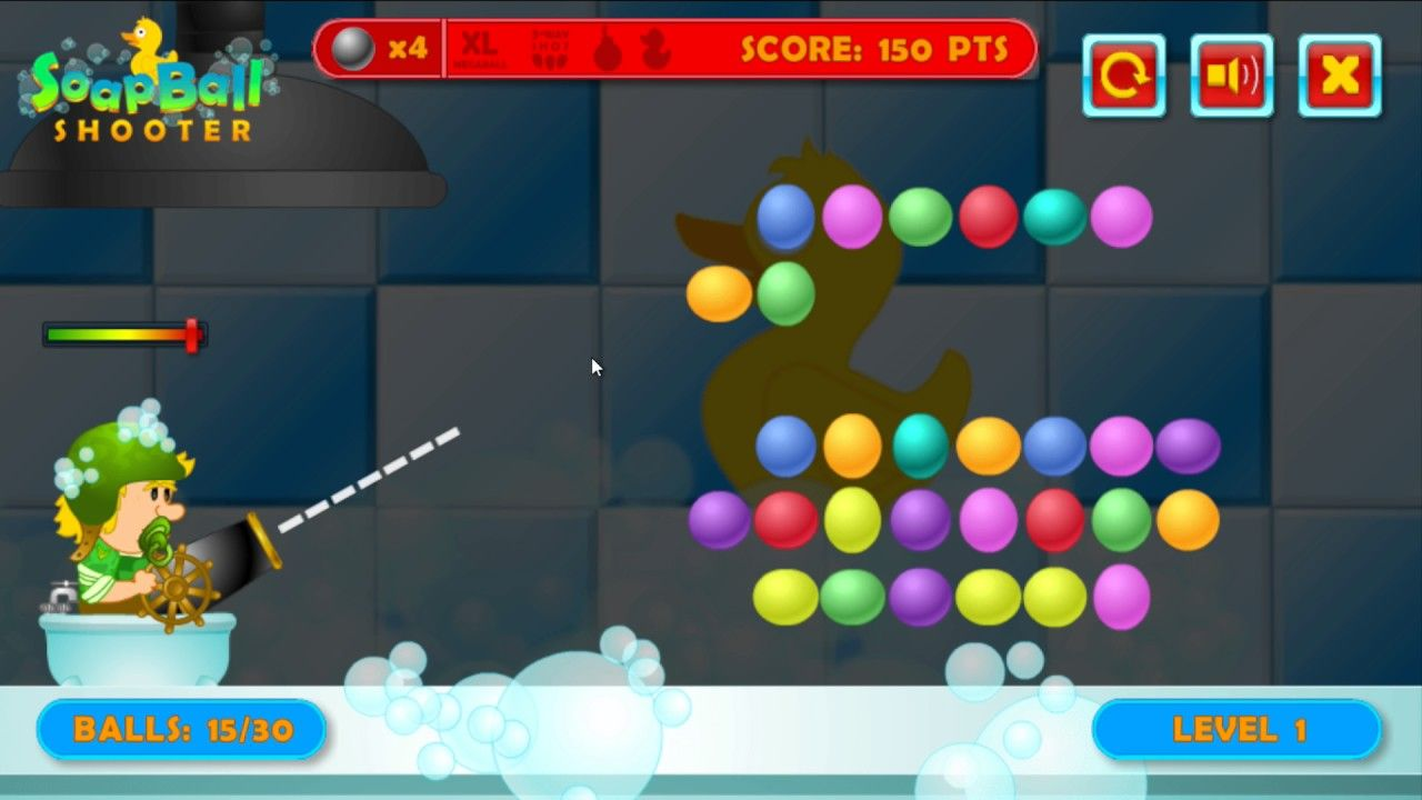 Soap Ball Shooter Use The Cannon To Pop The Balls Look Out For Special Balls Games To Play Ball Cute Little Kittens