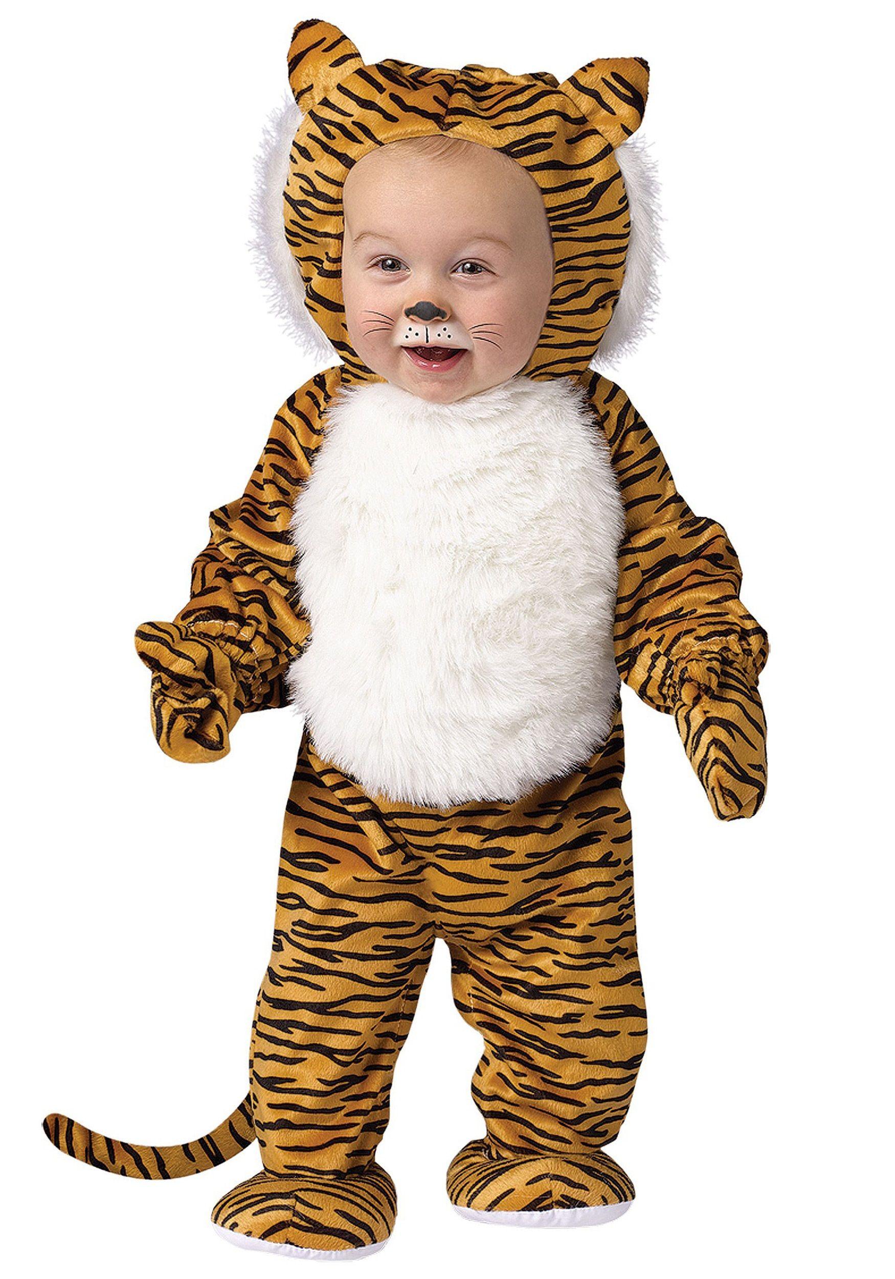 7f53dd7eb7745 Toddler Cuddly Tiger Costume