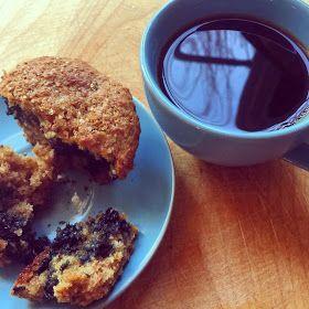 Blueberry Bran Muffins Rubbing Sugar: A New Year = Something Semi-Healthy