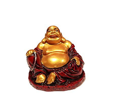 Schlafzimmer buddha ~ Feng shui buddha gold color resin happy buddha statue laughing