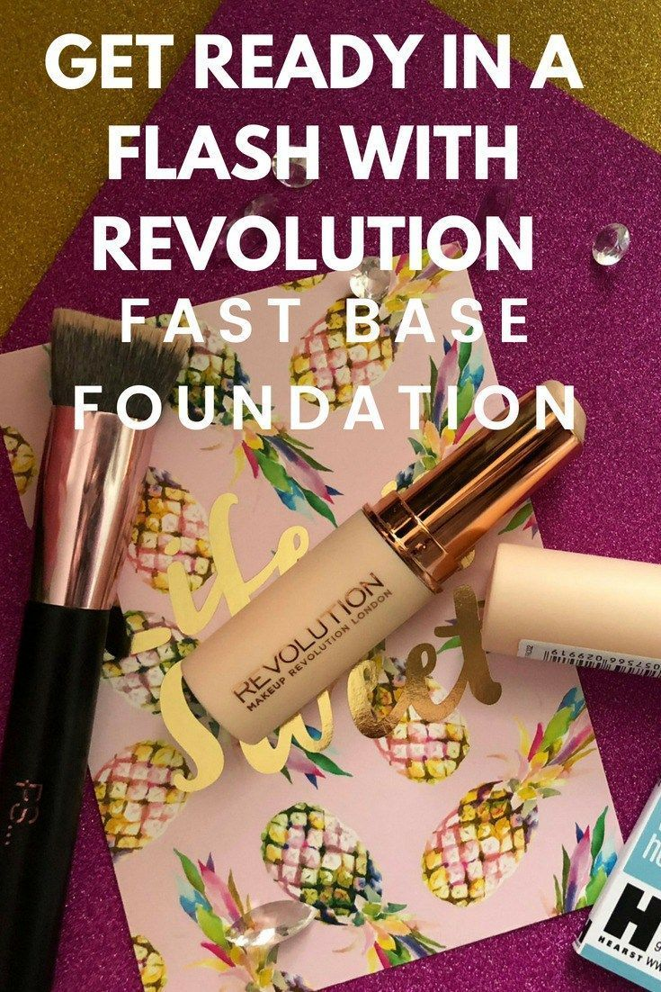 Speed up your morning routine with Revolution Fast Base