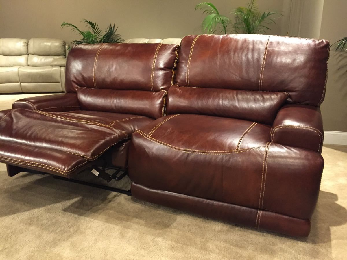 Corinthian El Paso Walnut Leather Collection Living Room Sets Leather Corinthian