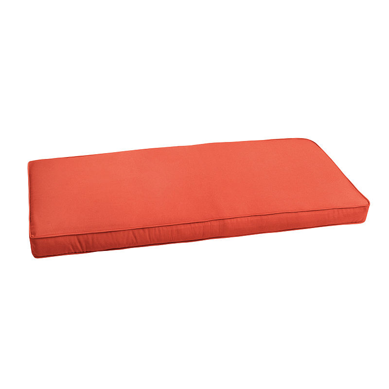 Gwyneth Sunbrella Indoor/Outdoor Corded Bench Cushion Products in