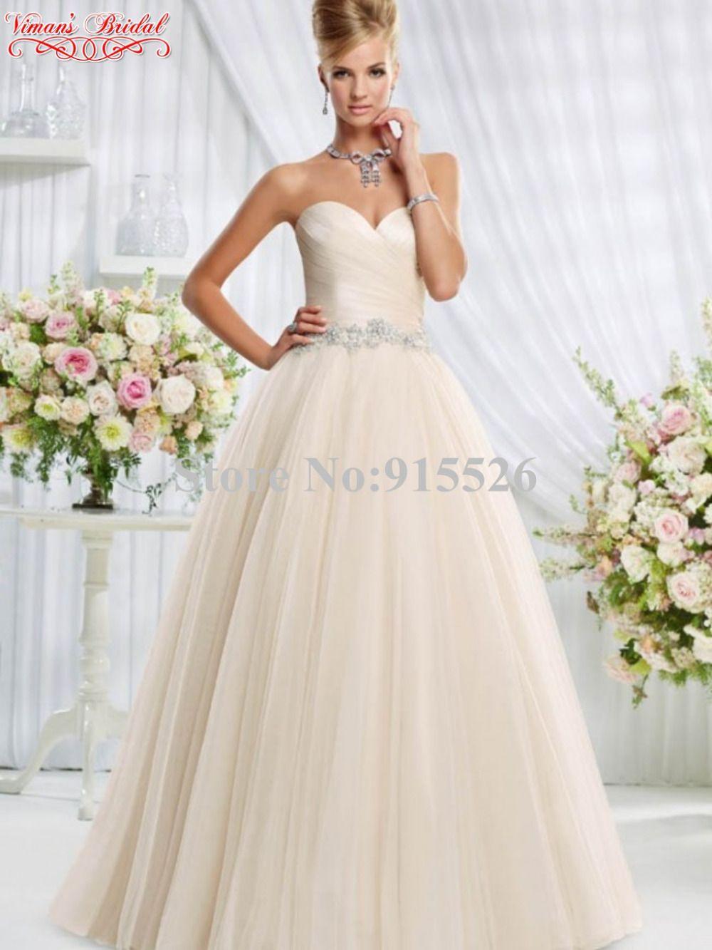 See through corset wedding dresses  Click to Buy ucuc Organza Princess Wedding Dress Pleat Sweetheart Off