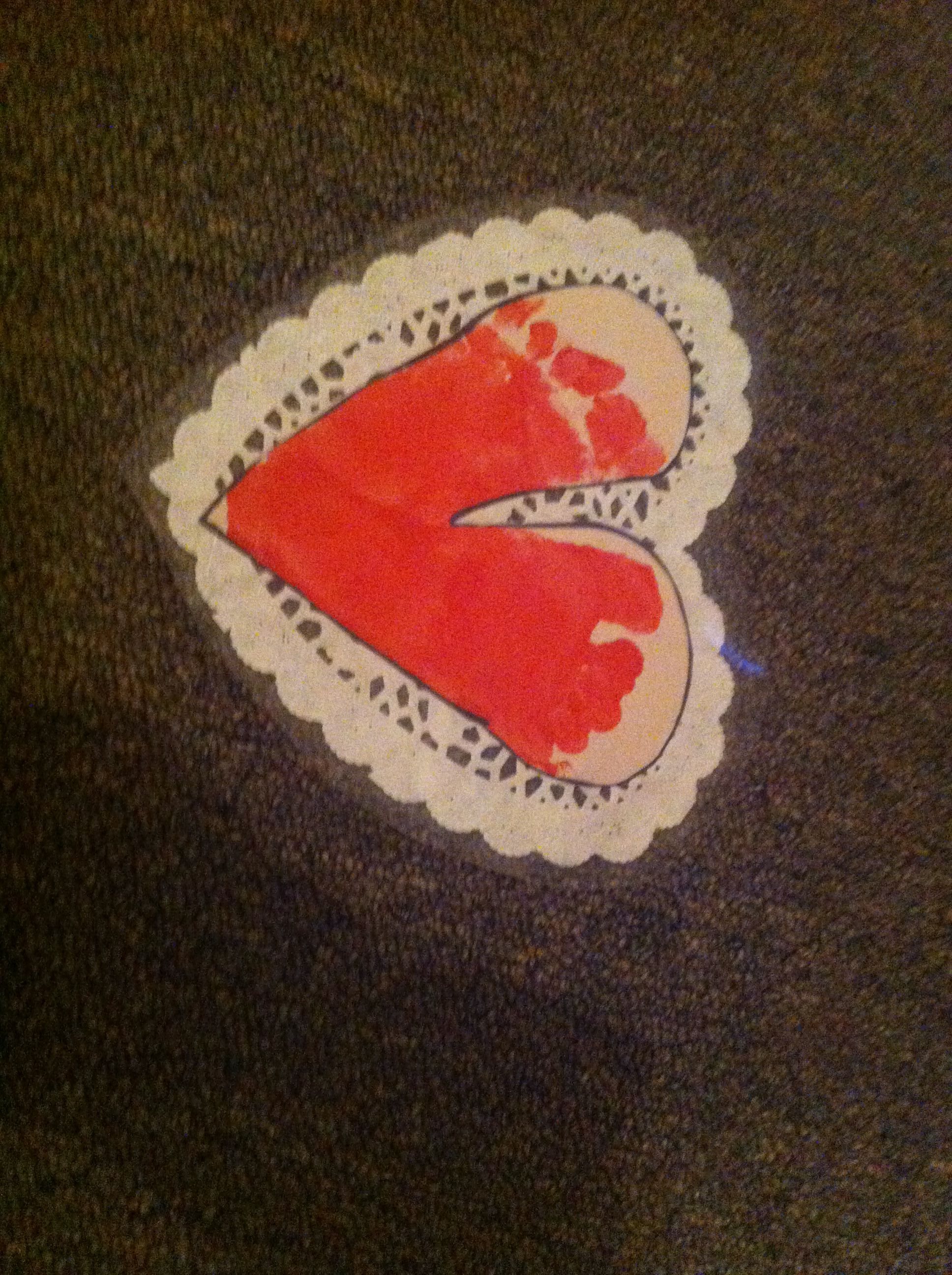Valentines Day Foot Print Craft For Infants Or Toddlers Rylan