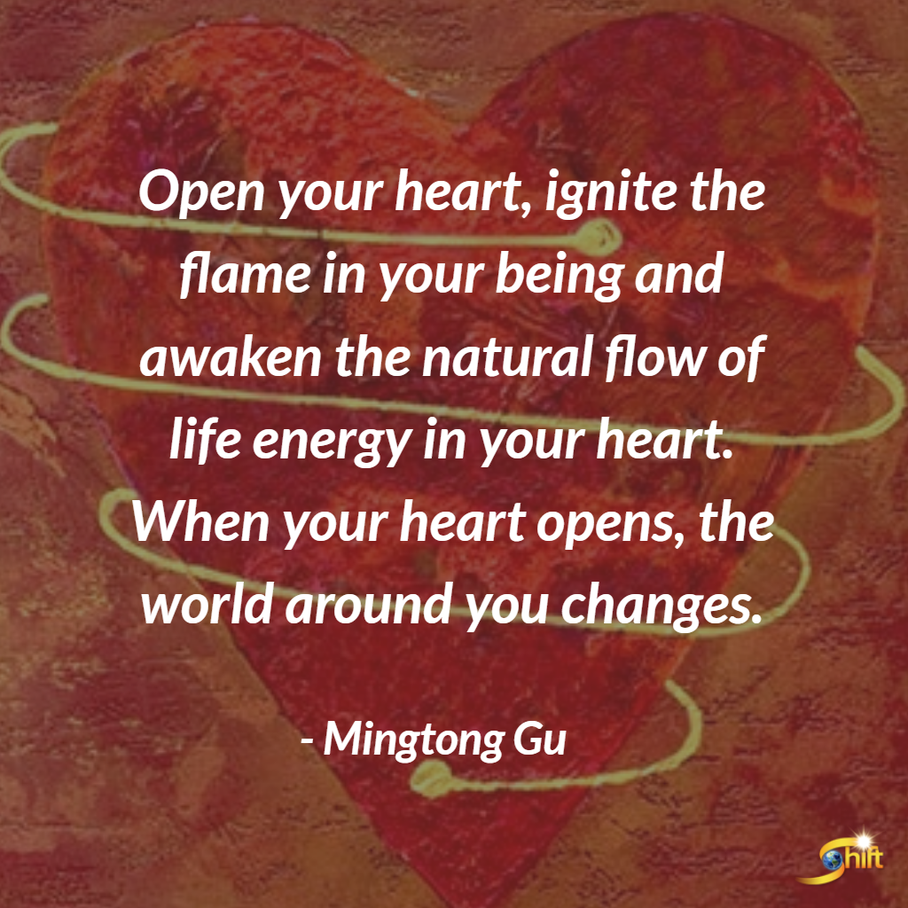 Open Your Heart Ignite The Flame In Your Being And Awaken The Natural Flow Of Life Energy In Open Your Heart Quote Yoga Inspiration Quotes Open Heart Quotes