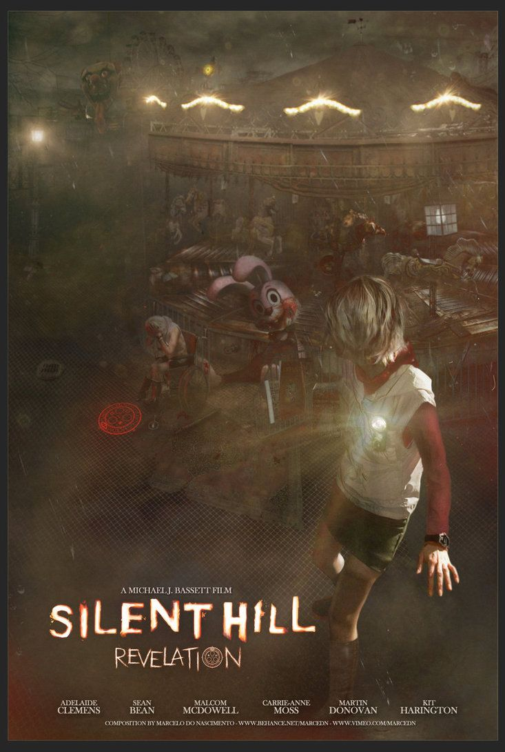 Silent Hill Revelation Movie Poster Google Search Filmes Fotos Personagens