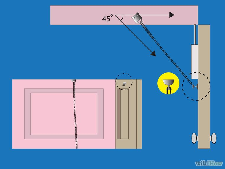 Install A Safety Chain On A Storm Door Step 2 Jpg With Images Storm Door Installation Storm