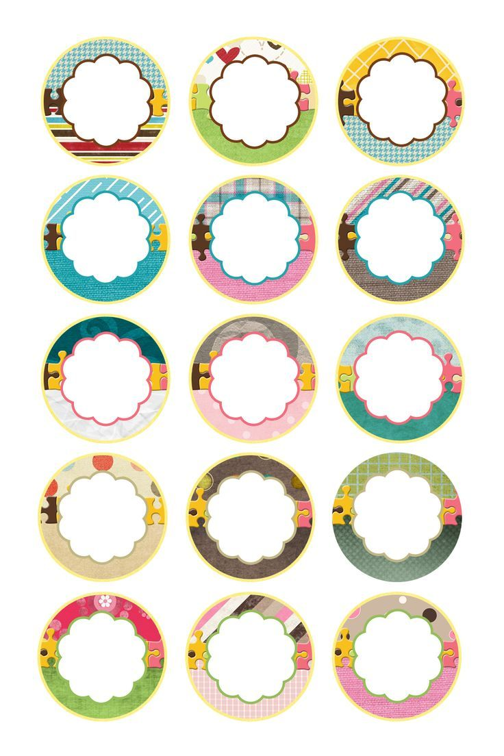 It's just an image of Trust Printable Round Stickers