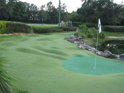 Beautiful Miniature Golf Courses Walt Disney World Resort