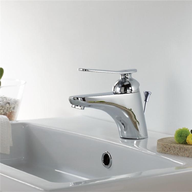 洗面蛇口バス水栓ポップアップ式蛇口冷熱混合栓水道蛇口クロム 蛇口