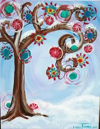 christmas pictures to paint - Google Search