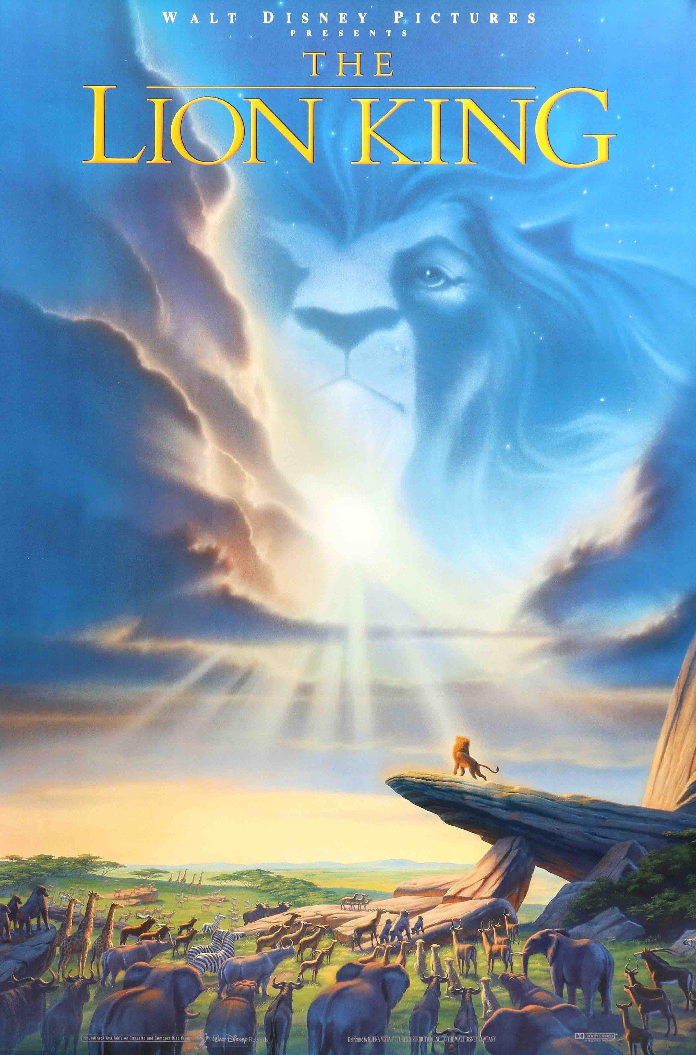 Lion King (1994) | Movies~1990 To 1999 | Walt Disney ...