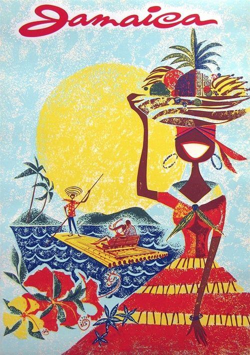 Travel Poster - Jamaica - 1960