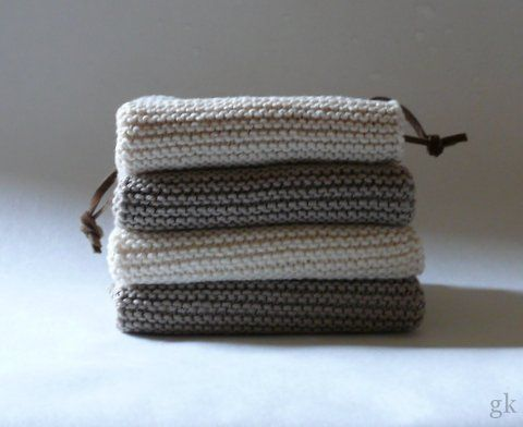 Photo of Knitted dishcloths are all the rage – how nice that we have them too …