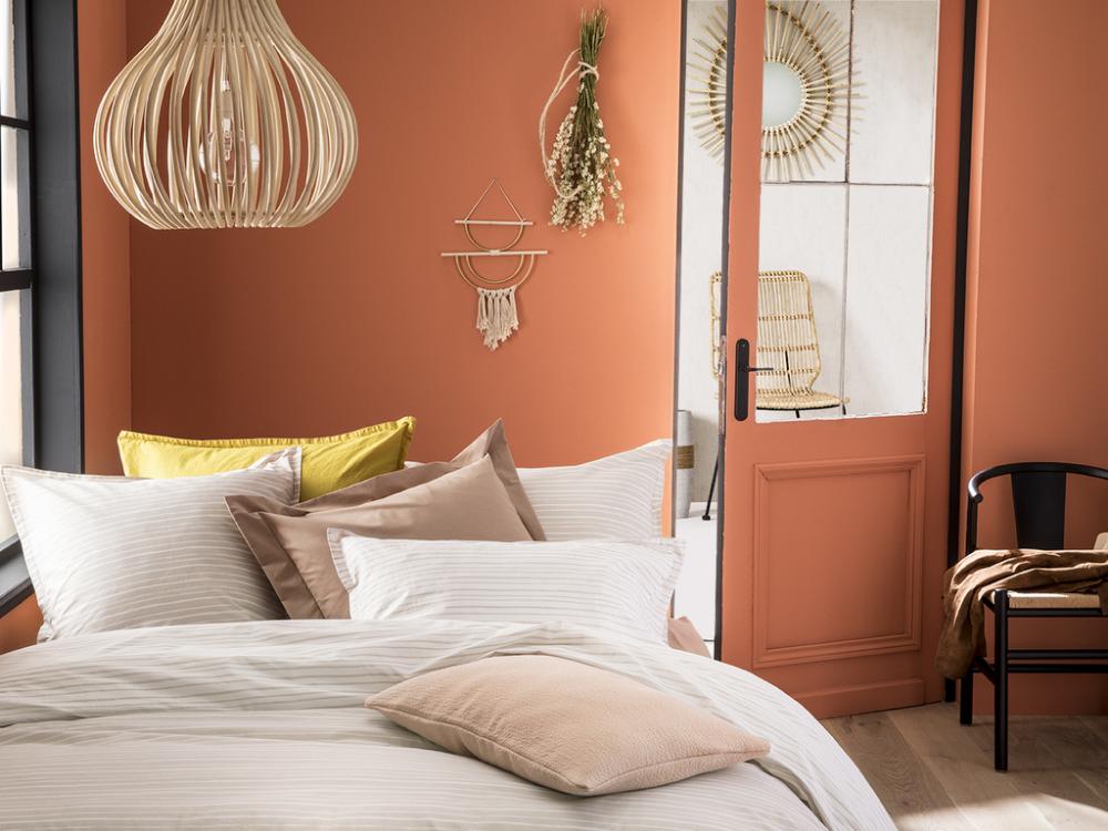 Déco chambre : adoptez la couleur terracotta | Deco ...