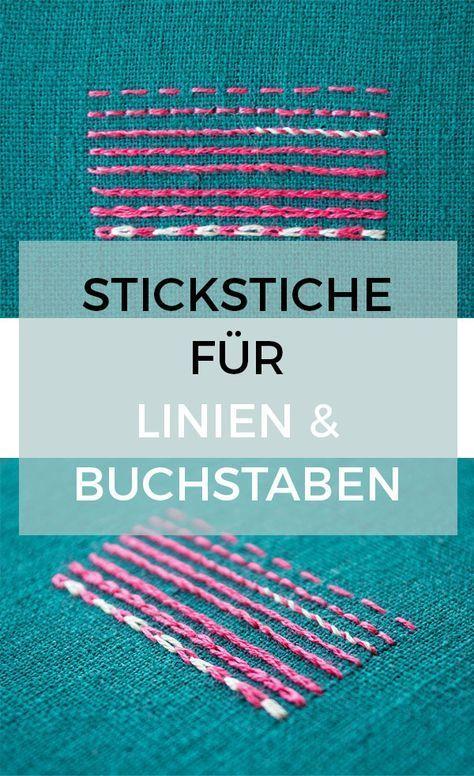 Photo of 8 Stickstiche für Linien – Pumora
