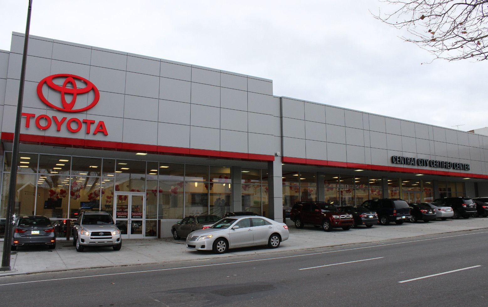 Central City Toyota Newly Renovated! The Leading Toyota