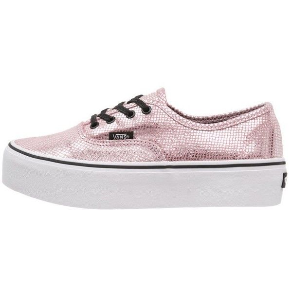 061c6872ec30a4 Vans AUTHENTIC Trainers pink black ( 86) ❤ liked on Polyvore ...