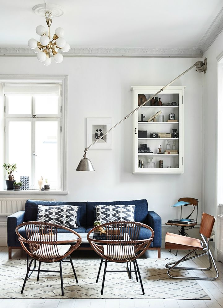 Vintage Living Room Ideas For Small Spaces: Polishing Vintage Rough Diamond Into A Lovely, Comfortably