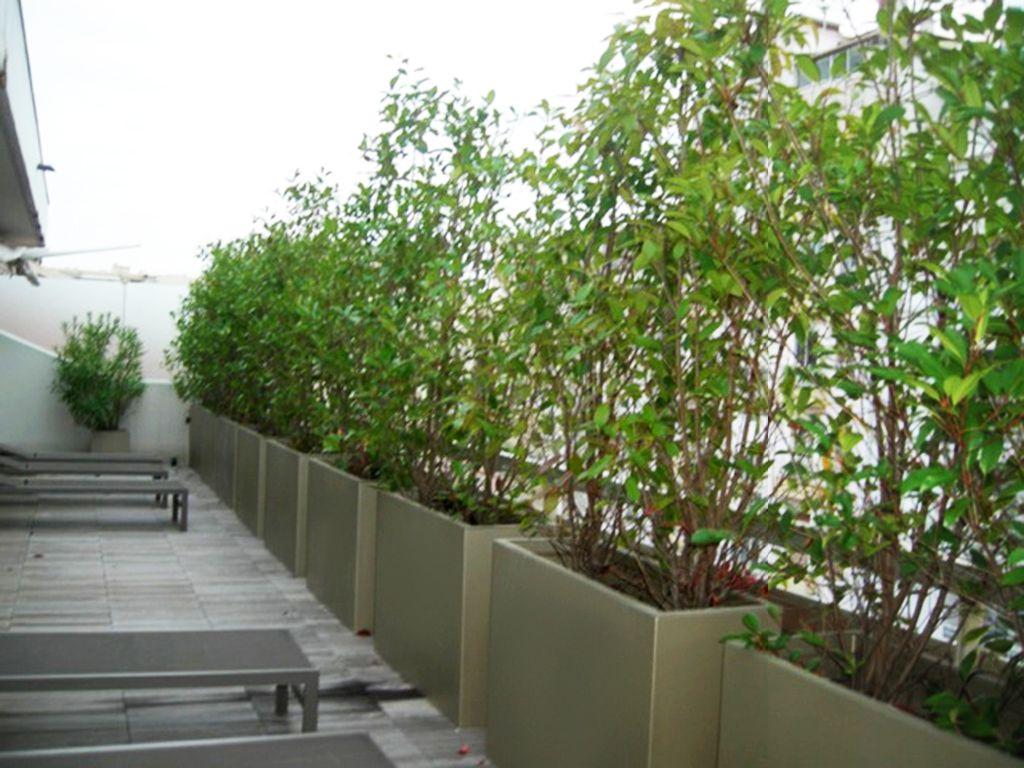 bacs a plantes pour former un brise vue