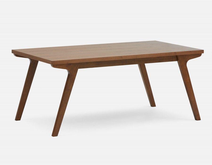 Mette Walnut Veneer Dining Table 180cm 71 Quot Home Reno