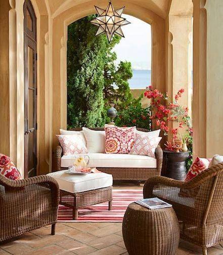 The Little Corner Balcony, terrace/Balcón, terraza, porche - balcones modernos