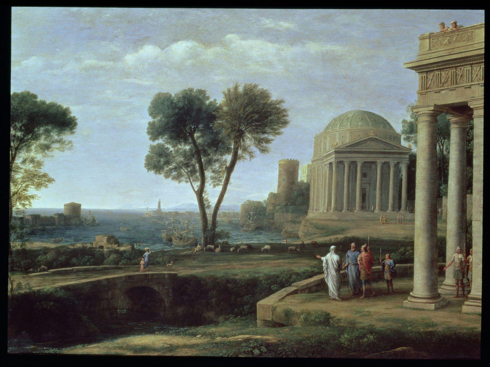 Le Classicisme Dans La Peinture De Paysage 3 Classicisme Origine Et Definition La Notion De Classicisme Histoire De La Peinture National Gallery Paysage