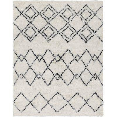 Mistana Rayden Geometric Plush Hand Woven Wool Camel Area Rug Rug Size: Rectangle 5' x 7'6