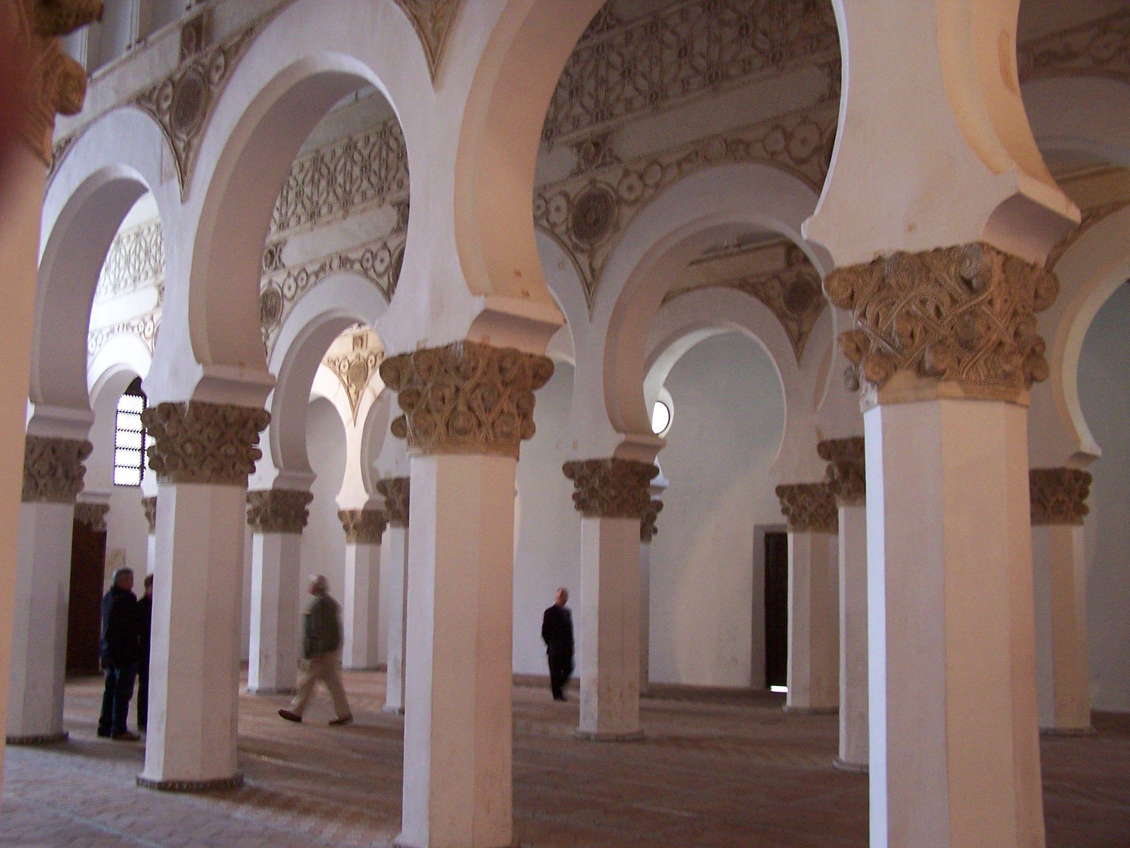 Sinagoga del Transito (Sinagoga de Samuel ha-Levi Abulafia), Toledo, Spain. ...