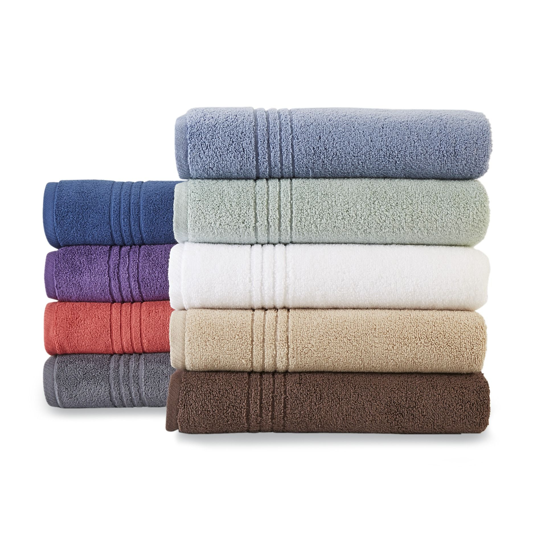 Colormate Soft And Plush Cotton Bath Towels Hand Towels Or