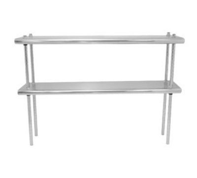 Advance Tabco Ds 10 108 108 In Table Mounted 2 Deck Shelf 10 In Deep Each By Advance Tabco Stainless Steel Shelving Steel Shelving Unit Shelves