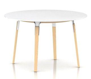 steelwood table round. magis.