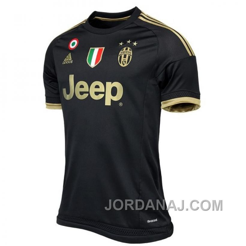 26b81d5fc The first Adidas Juventus 15-16 Kit features Juventus  traditional black