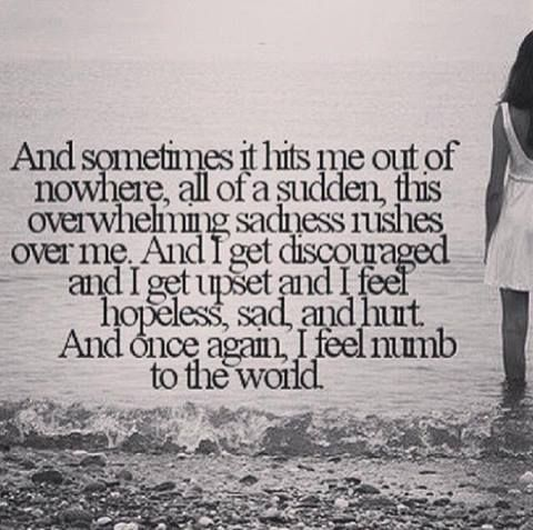 Facebook Words I Feel Numb Life Quotes