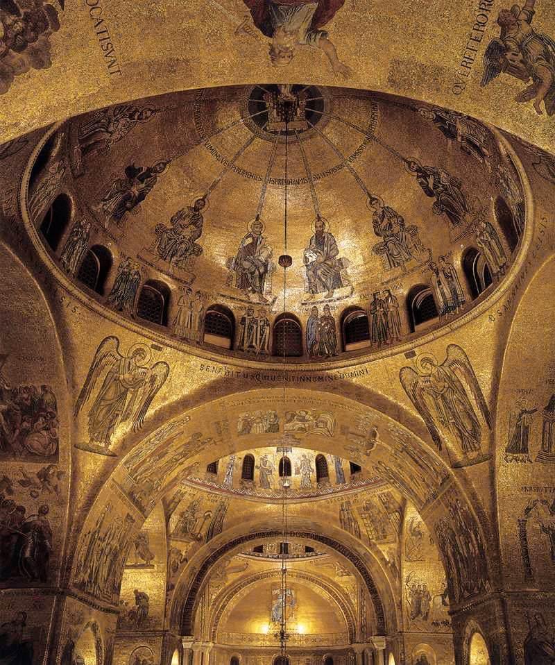 Basilica di San Marco  West cuppola,Venice,Italy