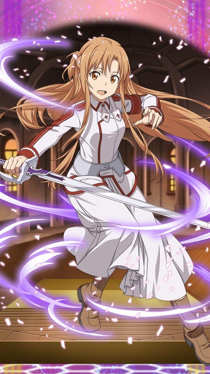 [Leading Swordsman] Asuna Gambar anime, Animasi