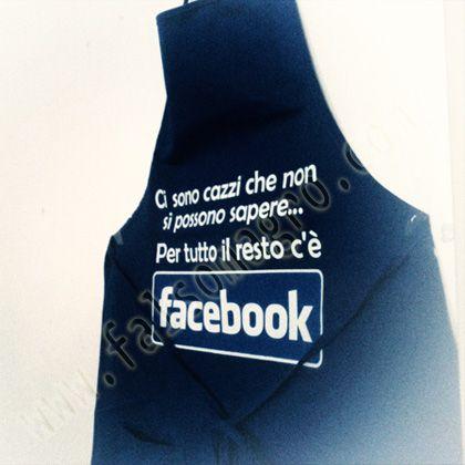 ....per tutto il resto c'è Facebook!