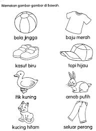 Image Result For Aktiviti Mewarna Makanan Bahasa Melayu Pinterest