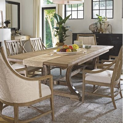 Complete Your Cottage Inspired Dining Room With The Shelter Bay Table From Stanley Furniture S Coastal Living Resort Collection
