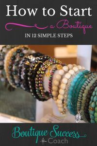 Are you ready to make your dreams a reality and start your own retail boutique? Find out the steps to take to make opening a boutique a reality! www.boutiquesuccesscoach.com